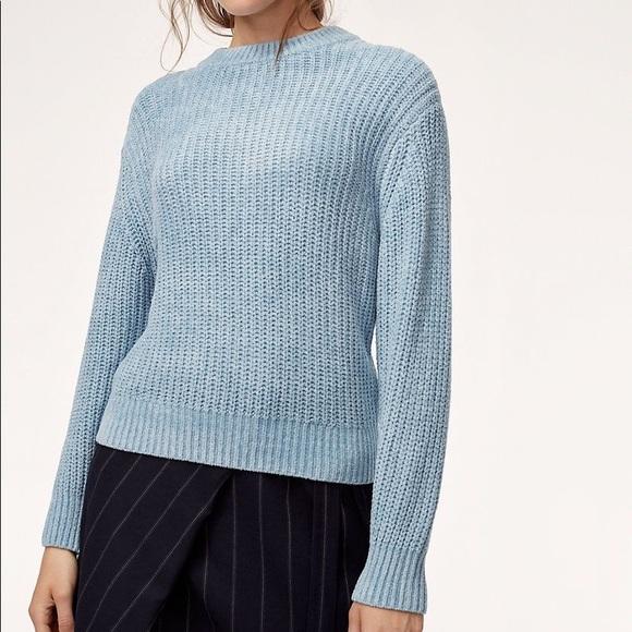 NWT Aritzia Wilfred Salette Sweater